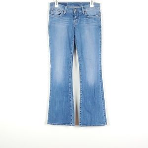 Lucky Brand Lil Maggie Wide Leg Light Wash Jeans